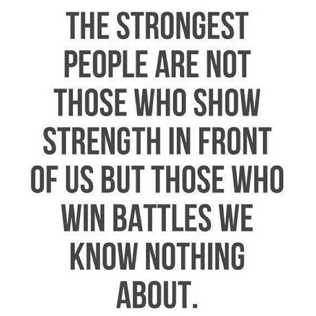 Not every battle is public. Even if no one sees it, fight hard to achieve your personal goals. Those private battles are often the ones that matter most! - HonorSociety.org