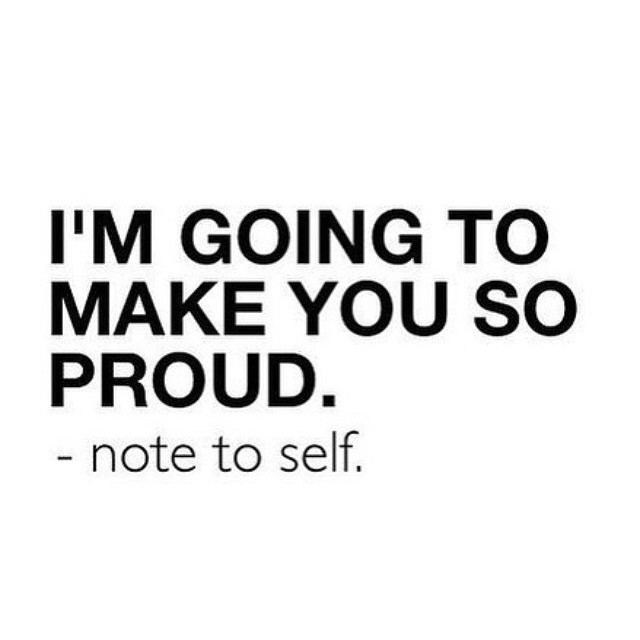 Do something that makes you proud of yourself today. #notetoself #honorsocietyorg - HonorSociety.org