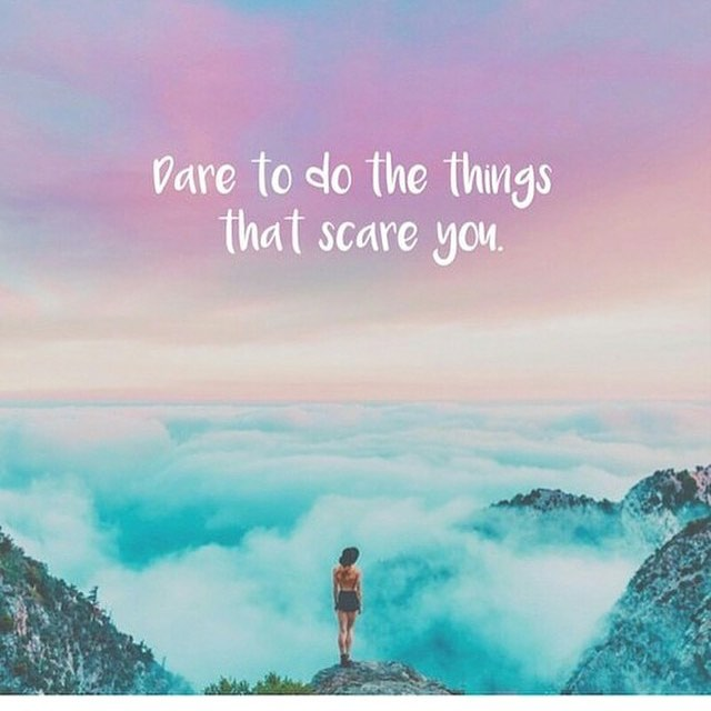 Some of the most worthwhile things in life are the ones that make you nervous. #hsorg #daring - HonorSociety.org